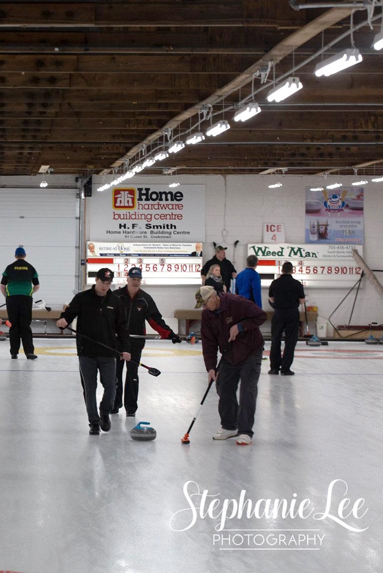 Curling Etiquette Game